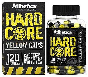hardcore yellow caps atlhetica nutrition 120 cápsulas