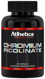 chromium picolinate atlhetica nutrition 120 cápsulas
