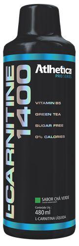 l-carnitine 1400 pro series atlhetica nutrition 480ml