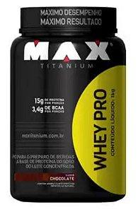 WHEY PRO - 1KG - MAX TITANIUM