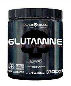 GLUTAMINE CAVEIRA PRETA - 300G - BLACK SKULL