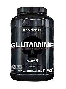 GLUTAMINE CAVEIRA PRETA - 1KG - BLACK SKULL