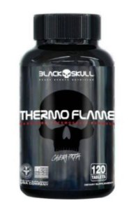 THERMO FLAME - 120 CÁPSULAS - BLACK SKULL