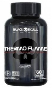 THERMO FLAME - 60 CÁPSULAS - BLACK SKULL