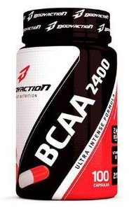 BCAA 2400 ULTRA INTENSE - 100 CÁPSULAS - BODY ACTION