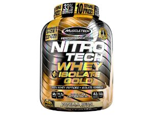 Whey Isolado Gold 913g  Nitro Tech