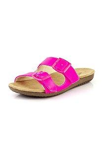 Tamanco Birken 2 Fivelas  Neon Pink