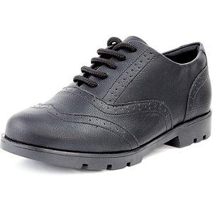 Sapato Oxford Tratorado Napa Preto
