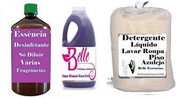 Produtos de Limpeza Detergente Concentrados