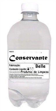 Conservante para Detergente 1 litro Produtos de Limpeza
