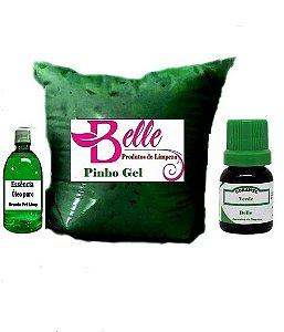 Pinho Gel concentrado  faz 60 litros