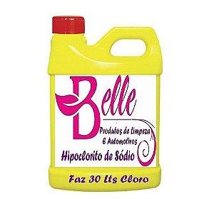 Hipoclorito de Sódio faz 30 litros de cloro