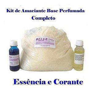 kit para fazer amaciante Essência com Corante 200 litros