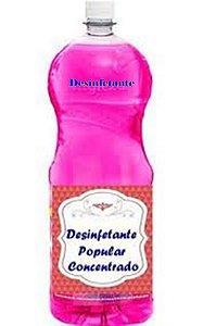 Base concentrada para desinfetante  90 Litros Perfume Dia Todo