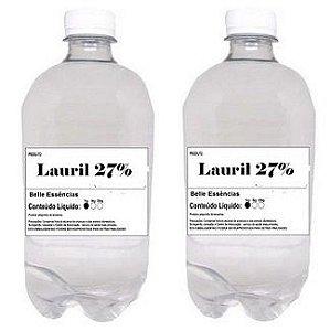 Lauril 27% para Espumar Detergente,Sabão,Sabonete 2 Litros