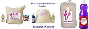 Kit produtos de limpeza Sabão-Amaciante-Detergente-Desinfetante 50Lt cada