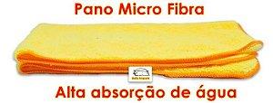 Pano Microfibra para limpeza boa Absorção da água 3 pç