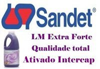 L M Ativado Intercap Extra Forte faz 200 Lts Material de limpeza