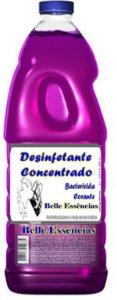 Desinfetante Concentrado 500 litros