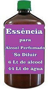 Essência para Fabricar Álcool perfumado faz 250 Litros