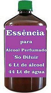 Essência para Álcool perfumado faz 200 Litros