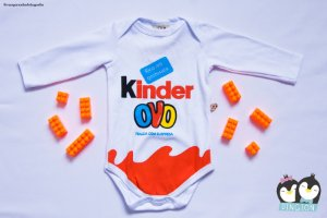 Body Kinder Ovo Manga Longa