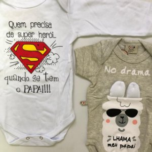 Kit super papai + lhama o papai