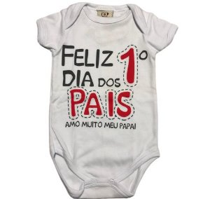 Body Feliz 1o dia dos pais