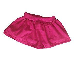 Tapa fraldas short saia vermelho