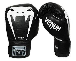 3a8adfb9cd7 Luva de Boxe  Muay Thai Venum UFC- Oficial- Preta- 12 oz - Vitrine Sport