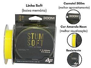 Linha Monofilamento Albatroz STUM SOFT LINE Carretel - 300m