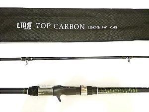 Vara Lumis TOP CARBON 2,70 m (Carbono / carretilha)