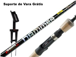 Vara Carretilha HAMMER SAINT PLUS Carbono IM8