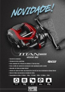 Carretilha TITAN PRO 12000 Big Game - Marine Sports