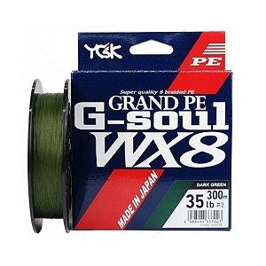 Linha Multifilamento 8X YGK G-Soul Grand PE WX8 300m Japan