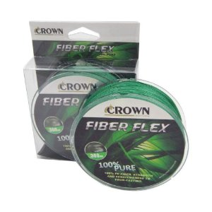 Linha Multifilamento Fiber flex Crown Diversos Diametros 300m
