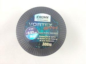 Linha Pesca Nylon Vortex 300 m - Crown - Diametros