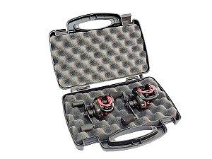 Maleta Case  Air Soft Carretilhas Multiuso Rígida c/ Espuma Protecao
