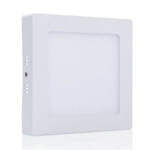 Painel LED 18W Sobrepor 3000k (Luz Branca Morna)