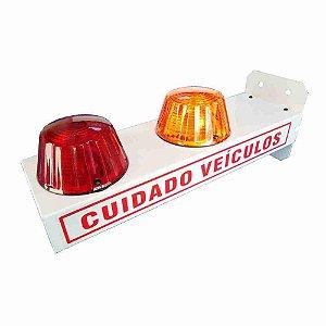 Sinalizador de Garagem com LEDs