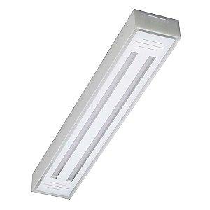 Luminária Sobrepor Valencia 2 Lâmpadas Led Tualux