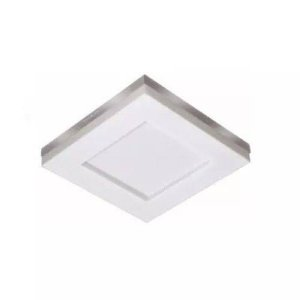 Luminária Led  Sobrepor Branco Asturias 6500k Tualux