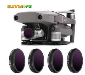 Kit Filtros ND Polarizadores Mavic 2 Zoom - ND8PL, ND16PL, ND32PL e ND64PL