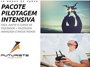 Curso de Pilotagem de Drones DJI - Intensivo 16 horas
