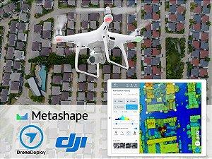 Curso de Mapeamento Aéreo e Topografia com Drones