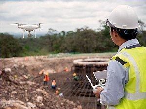 Curso de Inspeções de Obras e Infraestruturas com Drones