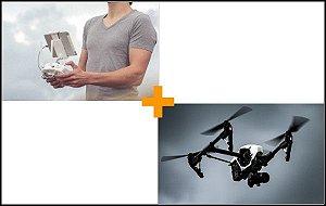 Curso de Pilotagem de Drones DJI Phantom e Mavic + Curso de Aerocinematografia Aérea com Pilotagem Avançada