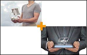 Curso de Pilotagem de Drones DJI Phantom e Mavic + Curso de Empreendedorismo e Gestão de Negócios de Drones