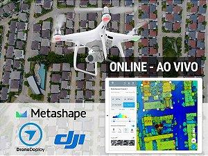 Curso de Mapeamento Aéreo e Topografia com Drones - EAD AO VIVO