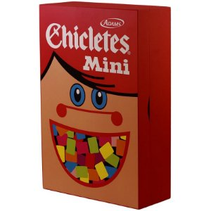 Porta Chaves Chicletes Mini